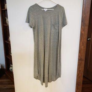 Gray Carly Swing High-low Dress